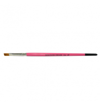 #6 Flat Gel Brush Pink