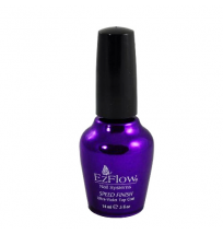 SPEED FINISH UV TOP COAT 0.5 OZ EZFLOW